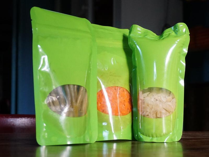 Verpackung für Fermentiertes
