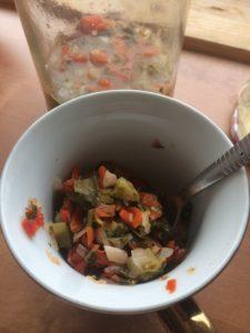 Falafel mit fermentiertem Kümmelkraut & fermentiertem Feuer 8