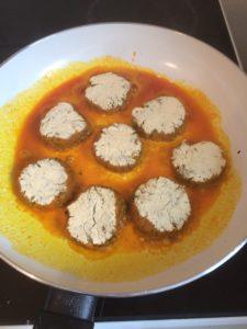 Falafel mit fermentiertem Kümmelkraut & fermentiertem Feuer 5
