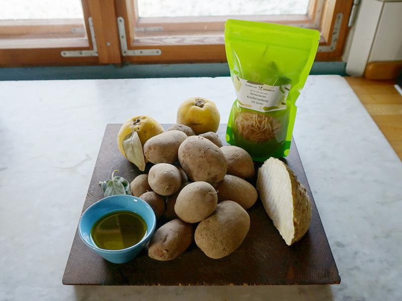 Kartoffel, Sellerie & Quitte - fermentiert & unfermentiert 1