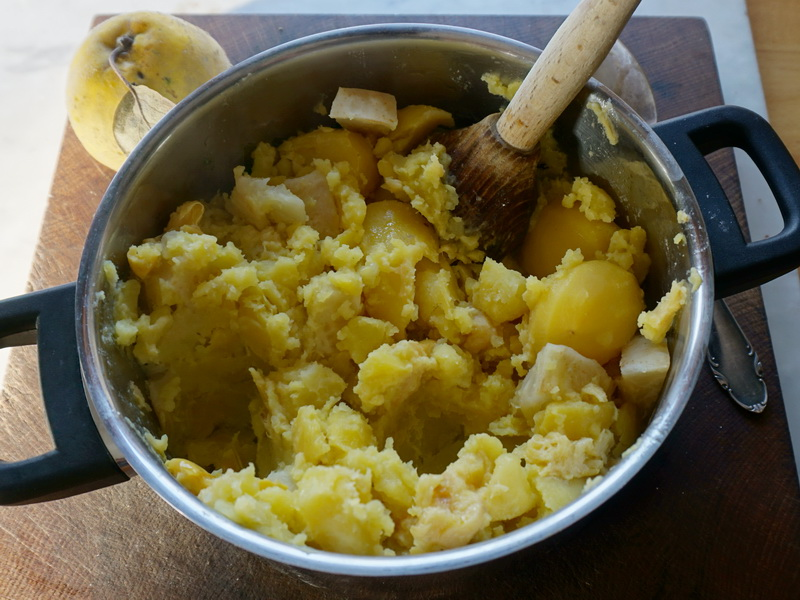 Kartoffel, Sellerie & Quitte - fermentiert & unfermentiert 3