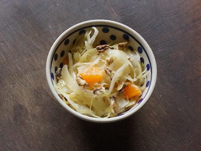 Fruchtiger Sauerkrautsalat 1