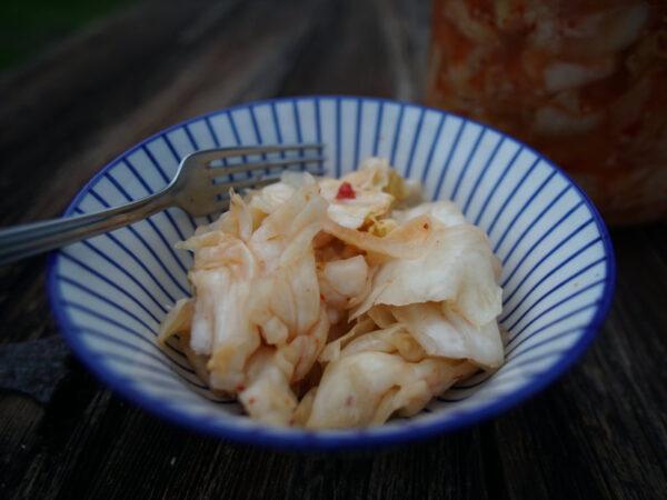 Spitzkohl-Kimchi 1