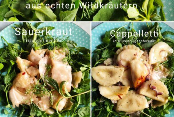 Wildkräuter - Fermentiertes - Pasta