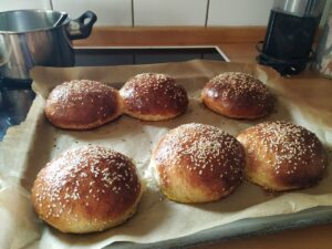 Das Rezept: Wildkräuter Burger + fermentierte Rote Bete 4