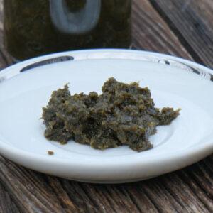 fermentierte Bärlauch-Paste