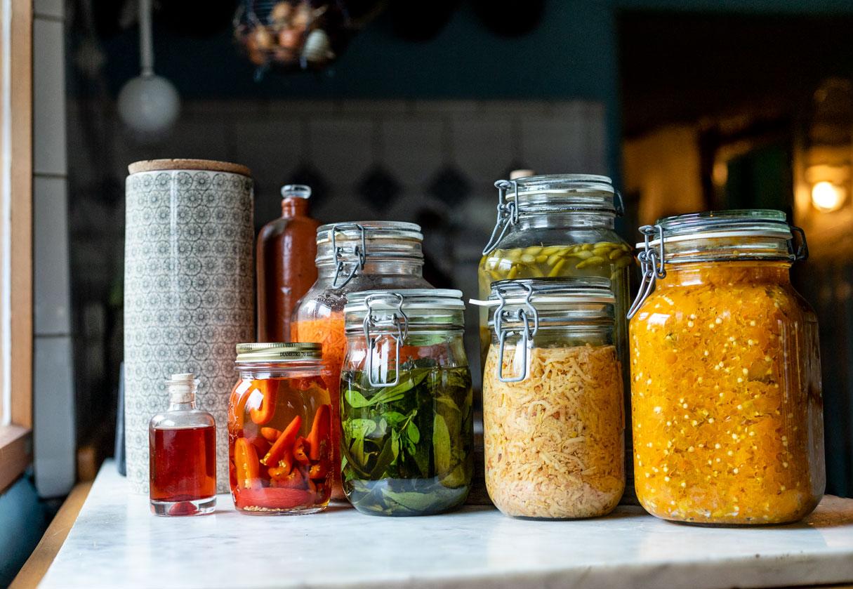 Fermentiertes Gemüse von Schnelles Grünzeug