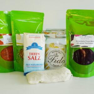 Frisches und fermentiertes Gemüse 21